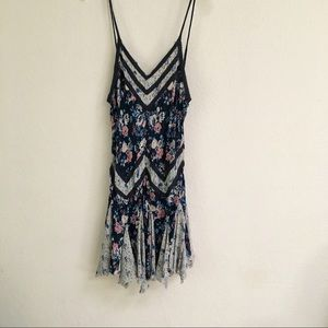 Intimately Free People handkerchief hem mini dress